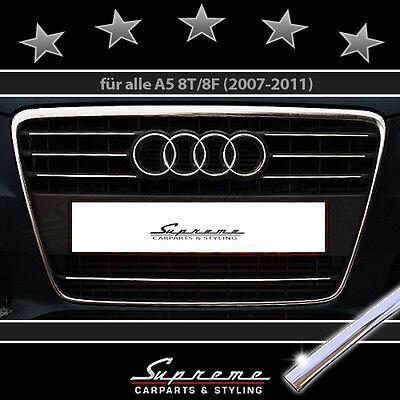 AUDI A5 8T E 8F 2007-2011 TRIM PER GRIGLIA RADIATORE CROMATA 3M