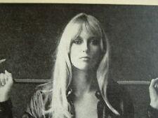 "1969 BSA Birmingham Small Arms Motorcycle ""Ready to Display""  Jill Blank 1968 bw"