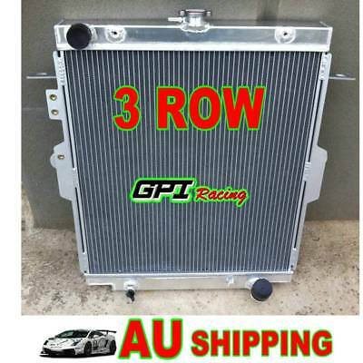 Aluminum Radiator for Toyota Landcruiser HDJ78 HDJ79 HZJ78 HZJ79 1HZ 4.2L