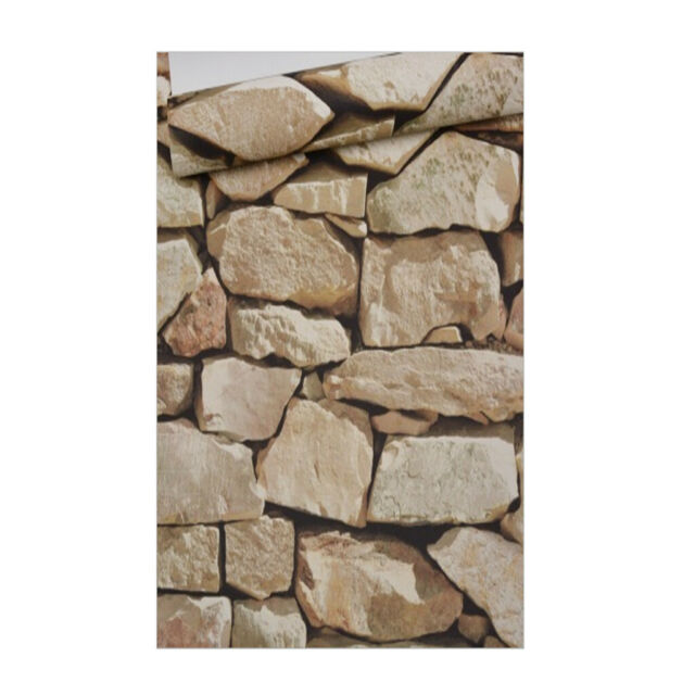 10m 3d Bricks Removable Wall Decal Wall Paper Stickers Bar Home Xmas Gray For Sale Online Ebay