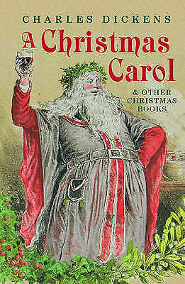 A Christmas Carol and Other Christmas Books (Oxford World's Classics)-ExLibrary