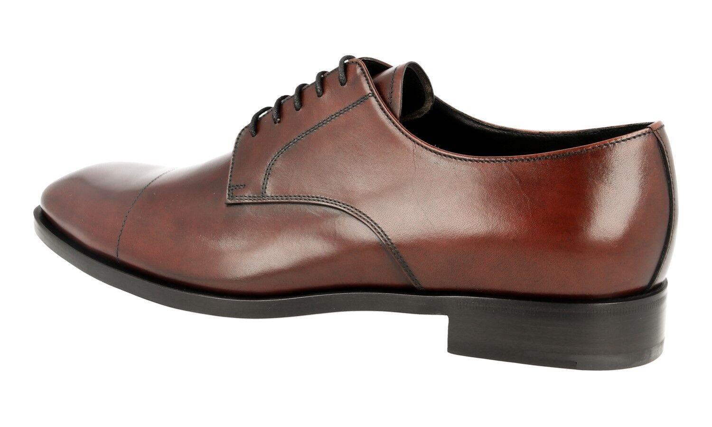 Lujo prada Business Business Business zapatos 2eb120 Cordovan nuevo New 9 43 43,5 c3201f