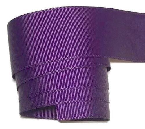 "5 yards Plum 1.5/"" grosgrain ribbon by the yard DIY hair bows"