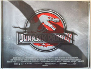 JURASSIC PARK III (2001) Original Quad Film Poster - Sam ...