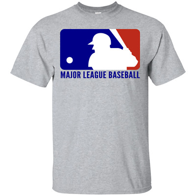 Logo Major League Baseball 2019 MLB T-Shirt Men Women Unisex Gildan Tee All Size