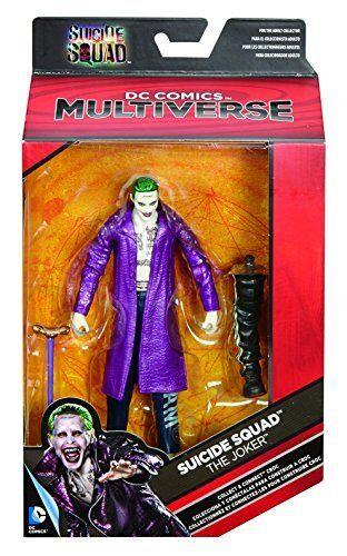 Mattel Suicide Squad Movie Collector Joker Edition Figuren Kinder Spielzeug NEU