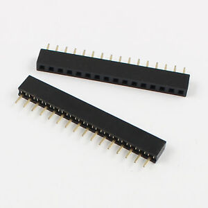 10Pcs-2mm-2-0mm-Pitch-16-Pin-Female-Single-Row-Straight-Pin-Header-Strip
