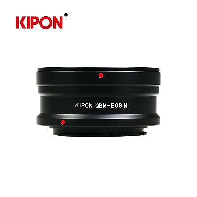 Kipon Adapter for Rollei QBM Mount Lens to Canon EOS R RF Full Frame Mirrorless Camera