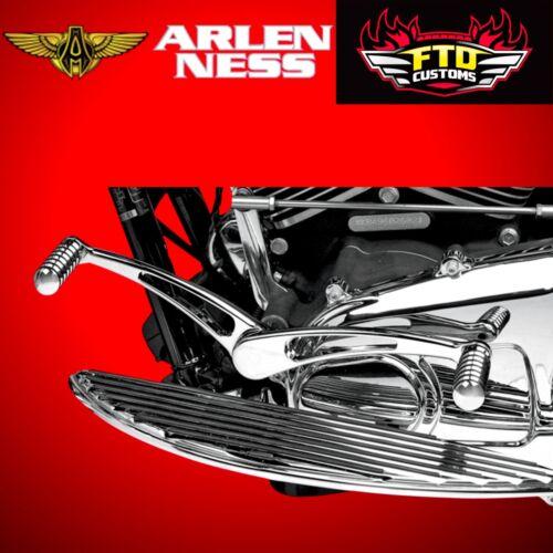 Arlen Ness Heel Toe Shift Kit Retro Chrome 97-up FLT//Trike 00-up FLST 19-793