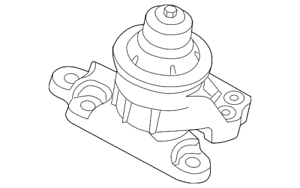 Genuine Ford Front Mount GB5Z-6038-A