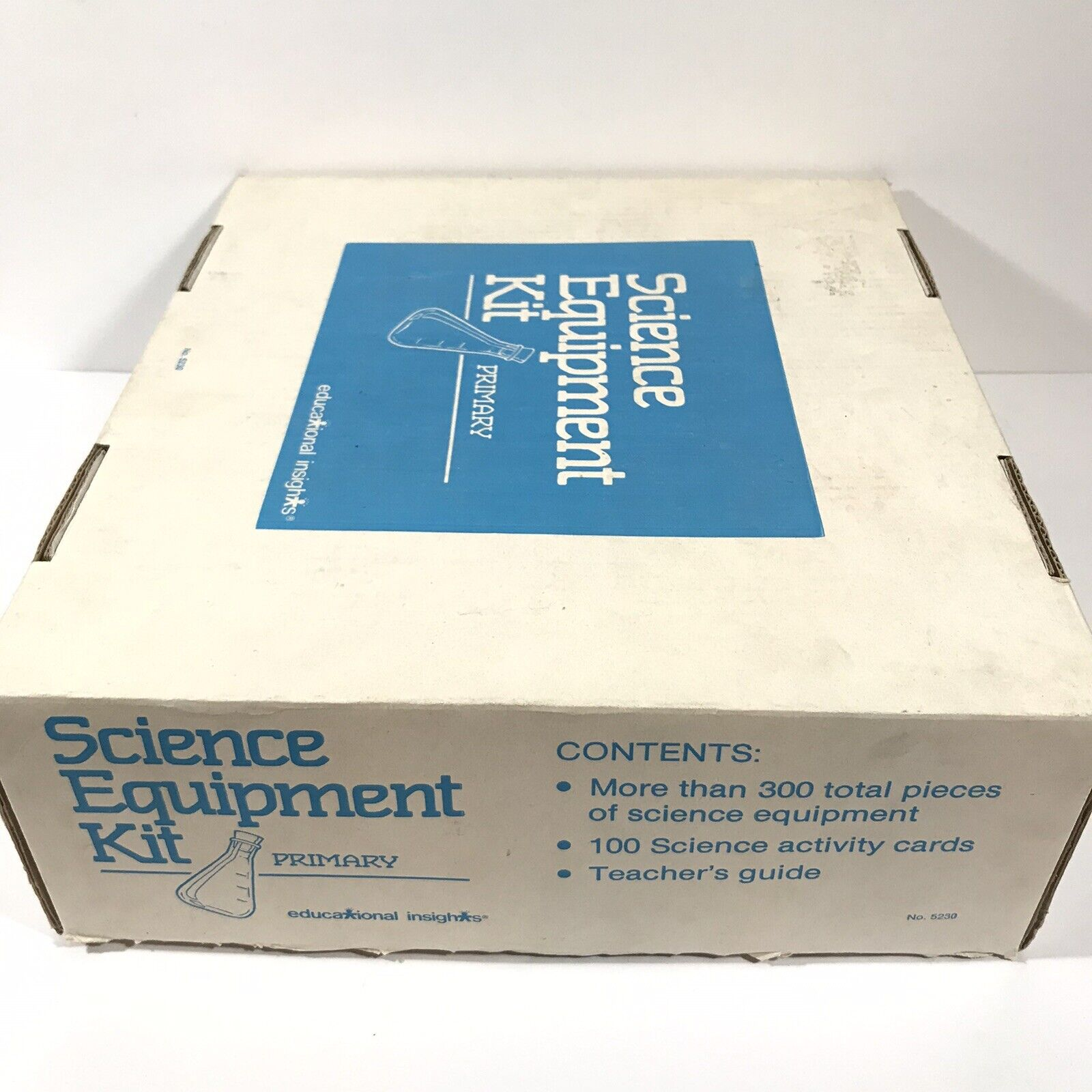 Vintage Primary Science EquipSiet Kit Educational Insights No. 5230 As-Is