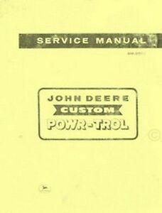 John-Deere-Custom-Powr-Trol-520-620-720-820-Tractor-Service-Shop-Repair-Manual