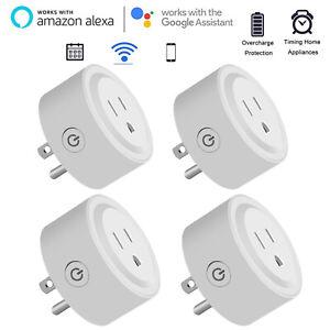 1X-Mini-Smart-Plug-Outlet-Wifi-Socket-Alexa-Google-Assistant-IFTTT-Voice-Control