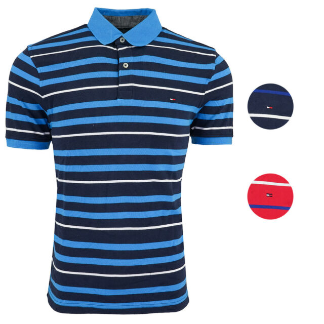Tommy Hilfiger Men's Striped Polo
