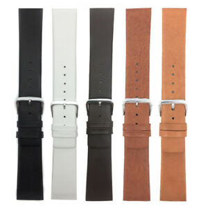 Genuine-Leather-Skagen-Watch-Strap-Band-Screw-12-to-31mm-White-Black-Brown-Tan