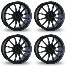 4 x Team Dynamics Matt Black Pro Race 1.2 Alloy Wheels - 4x114.3 | 15x7"