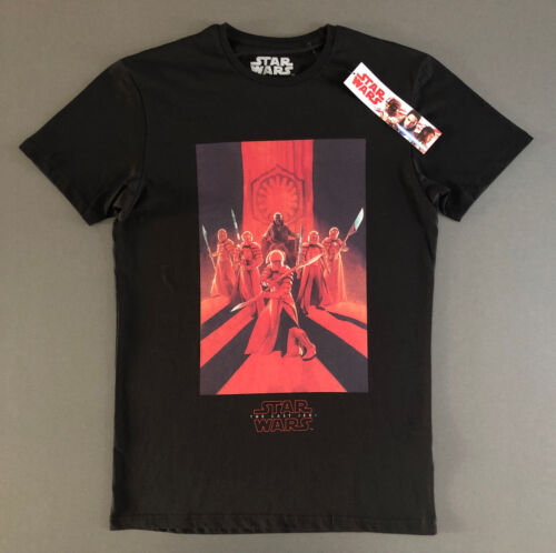 Neuf Star Wars T-Shirt Hommes Taille M The Last Jedi le dernier Jedi official shirt