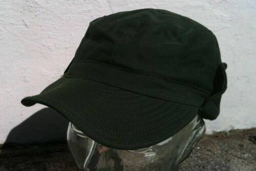 Olive Fatigue Caps plain and logo Swedish Army Issue