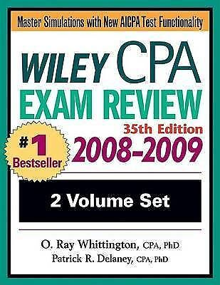 Wiley CPA Examination Review 2008-2009 (Wiley CPA Examination Review: Outlines &