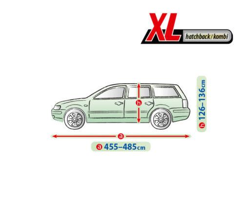 MERCEDES C KLASSE W204 Kombi T204 AUTOABDECKPLANE VOLLGARAGE GANZGARAGE XL kombi