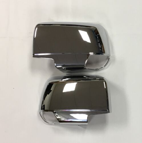 CHROME MIRROR SIDE DOOR COVER FOR NEW ISUZU DMAX D-MAX 2012 /& UP