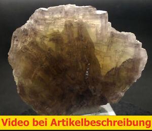 6101 Fluorite Fluorit 9*7*5 cm Grube Hermine 1980 Wölsendorf Bavaria BRD  VIDEO