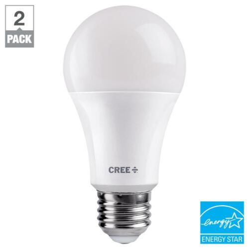 Cree 60W Equivalent Daylight A19 Dimmable Exceptional Light Quality LED 5000K