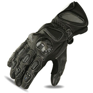 Motorcycle Gloves Motorbike Racing Cowhide Leather Riders Biker Black Large - London, United Kingdom - Motorcycle Gloves Motorbike Racing Cowhide Leather Riders Biker Black Large - London, United Kingdom