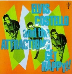 Get-Happy-By-The-Attractions-Elvis-Costello-Music-CD