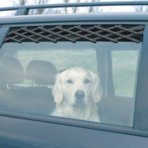 TRIXIE Ventilation Lattice For Cars for Dogs Traveling Air Vent Fresh Air Safe