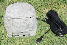 New SunSun Outdoor Pond / Garden 4 x Plug Electric Socket Rock  Box  CSB-104