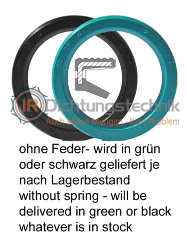 Radial-Wellendichtring RWDR Radial Shaft Seal Oil Seal NBR FKM InnenØ 36-40 mm