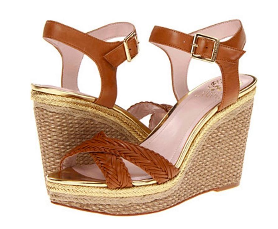 essere molto richiesto Vince Vince Vince Camuto Canyon donna Marrone Wedge Sandal Dimensione 9M  vendita calda online
