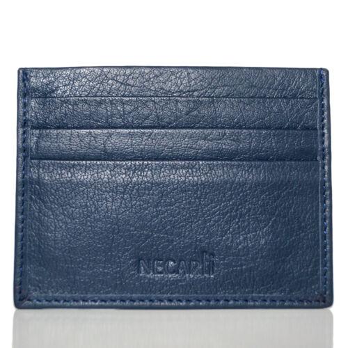 Genuine Leather Card Holder ID and Credit Cardholder Wallet UK Seller