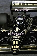 Johnny Dumfries JPS Team Lotus 98T Monaco Grand Prix 1986 Photograph 2