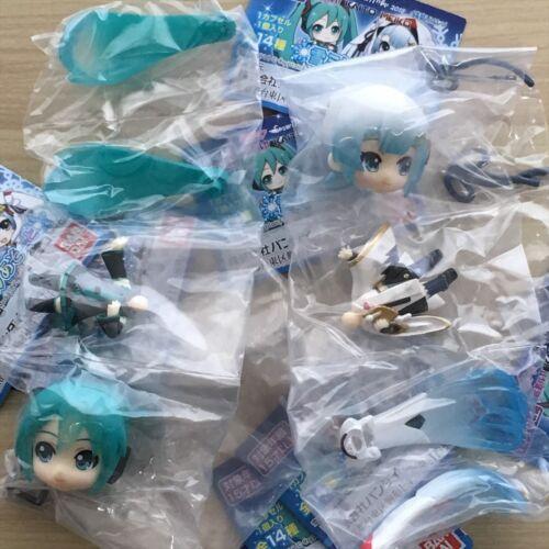 // Hatsune Miku Mini Figure Size 50mm Hatsune Miku Snow Miku 2018 ver
