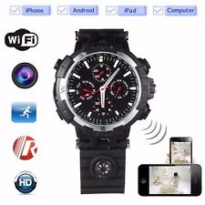 HD 720P WIFI IP Camera Spy Watch IR Motion detected Camera Live Seeing on Phone