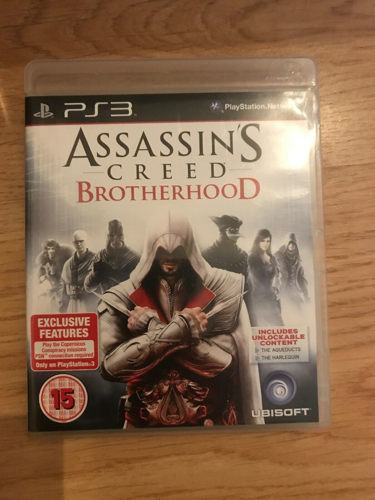 Assassins Creed Brotherhood PS3 COMPLETE IN BOX UNTESTED