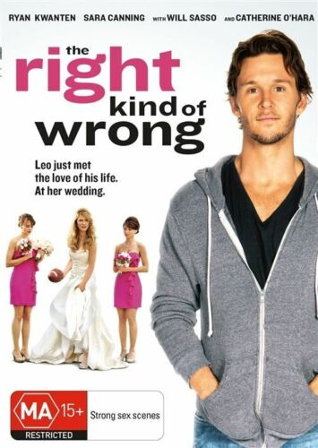 1 of 1 - The Right Kind of Wrong DVD NEW