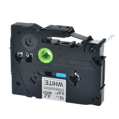 """1PK TZe S231 TZ-S231 Black On White Label Tape For Brother P-Touch PT-9600 1//2/"""""""