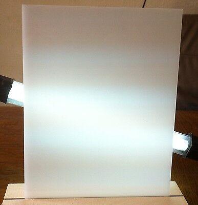 PLEXIGLAS® Acrylglas opal weiß 45% Lichdurchlässigkeit 2mm Zuschnitt kostenlos