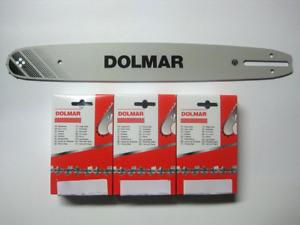 DOLMAR Schneidgarnitur 3/8-64 45cm 1,5 (3+1) 115 PS-5000 PS-5105 PS-6100 PS-4605