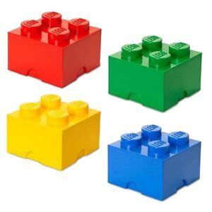 Image Is Loading Lego Medium Storage 4 Brick Red Blue Yellow