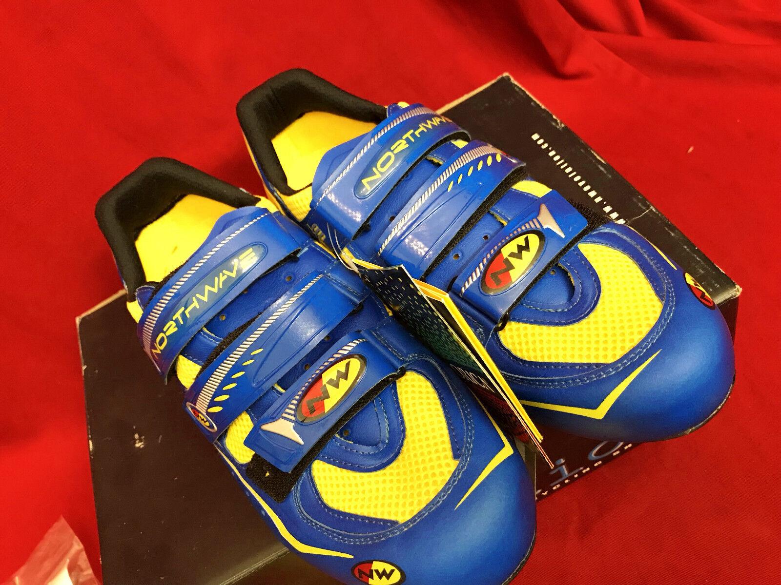 VINTAGE NOS northwave EVOLUTION 2000 race cycle shoes shoes 42.5 US10 28cm UK9