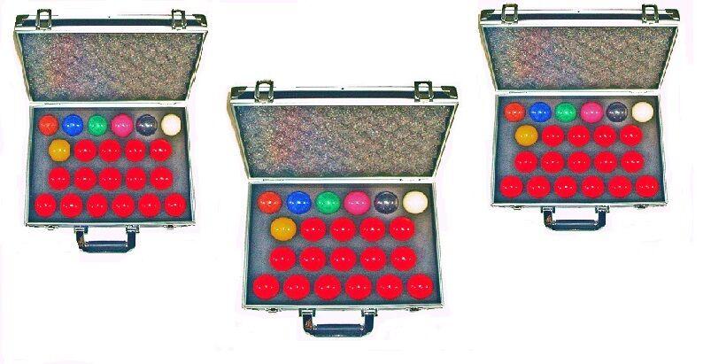 Divers Types Taille Réelle  Snooker Balles avec Étui  magasiner en ligne aujourd'hui