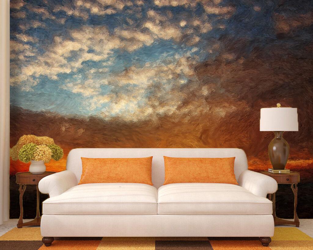 3D Sonnenuntergang-Malerei 85 Tapete Wandgemälde Tapete Tapeten Bild Familie DE
