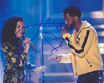 Official Website Singer Jhene Aiko Signed Authentic 8x10 Photo D W/coa Twenty88 Jhené Big Sean Autographs-original