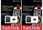 LOT SanDisk microSDHC 16GB 32GB 64GB microSDXC Extreme Pro 95MB UHS-I U3 4K Card