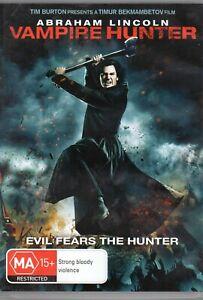Abraham Lincoln Vampire Hunter Dvd 2012 Dd 5 Ebay