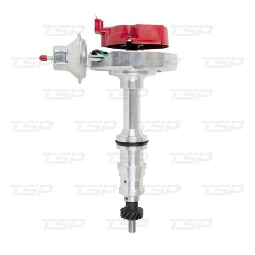 """Ford FE//FT Heavy-Duty V8 HEI Distributor with 5//16/"""" Shaft Red Cap"""